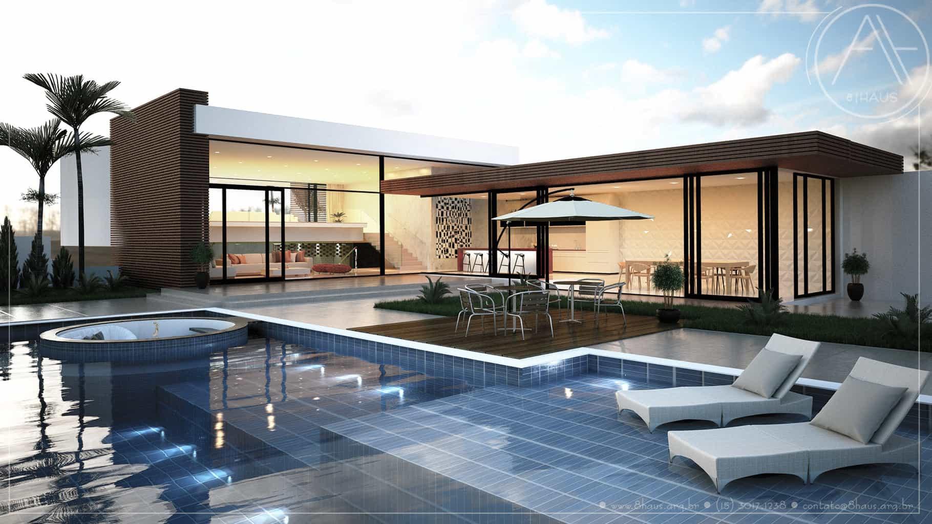 Projetos De Casas Em Sorocaba 8 Haus Arquitetos E Arquitetas