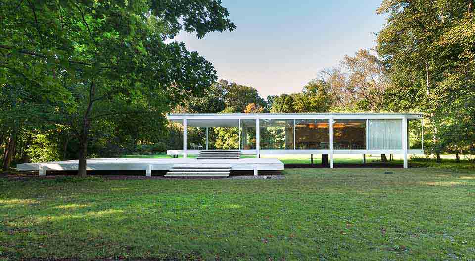 Projetos de casas modernas farnsworth 8haus arquitetos - Casa farnsworth ...